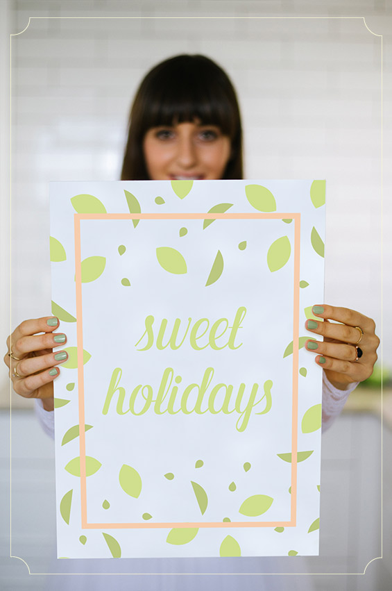 מיתוג Sweet Holidays